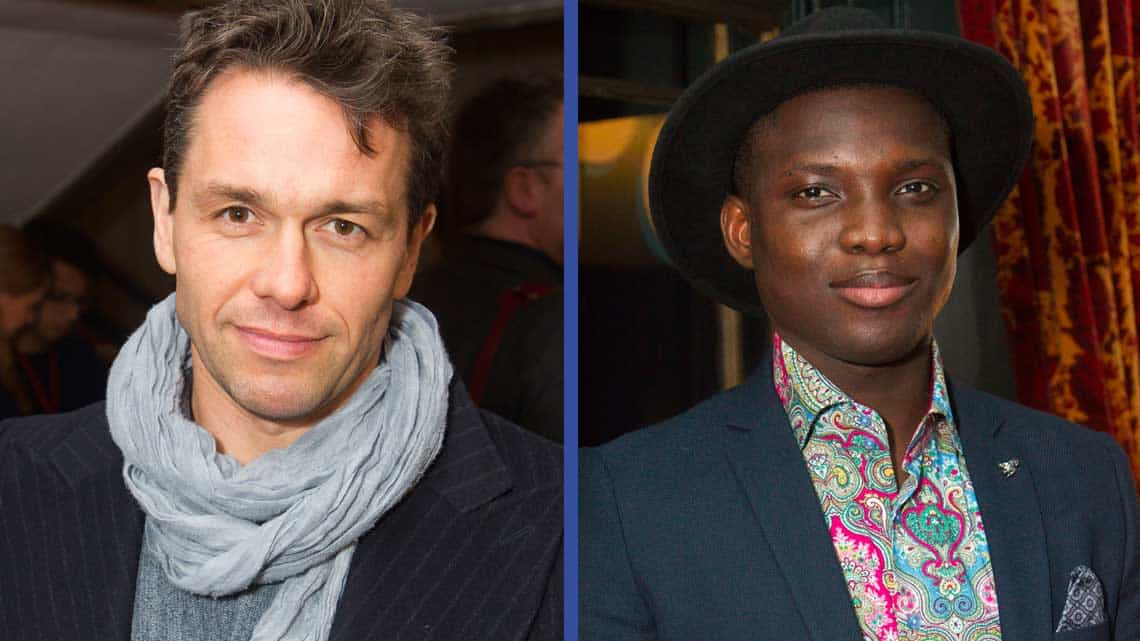 Julian Ovenden, Emmanuel Kojo | Show Boat opening night | Photo credit: Dan Wooller | First Night Photos: Show Boat