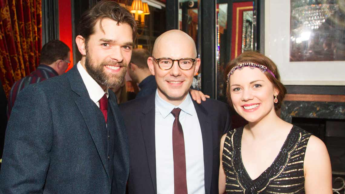 Chris Peluso, Daniel Evans, Gina Beck| Show Boat opening night | Photo credit: Dan Wooller | First Night Photos: Show Boat