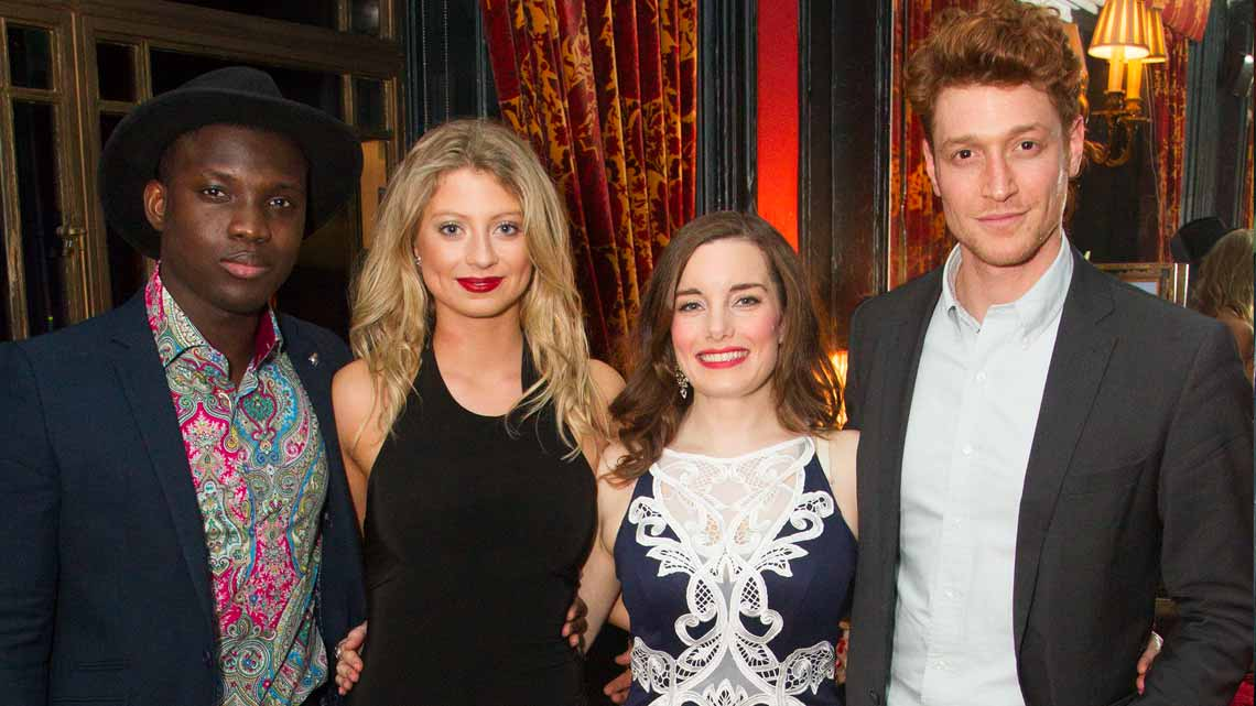 Emmanuel Kojo, Elisha Slater, Rebecca Trehearn, Daniel Donskoy| Show Boat opening night | Photo credit: Dan Wooller | First Night Photos: Show Boat
