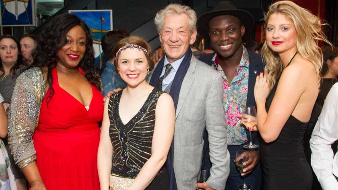 Ian McKellen and cast of Show Boat | Show Boat opening night | Photo credit: Dan Wooller | First Night Photos: Show Boat