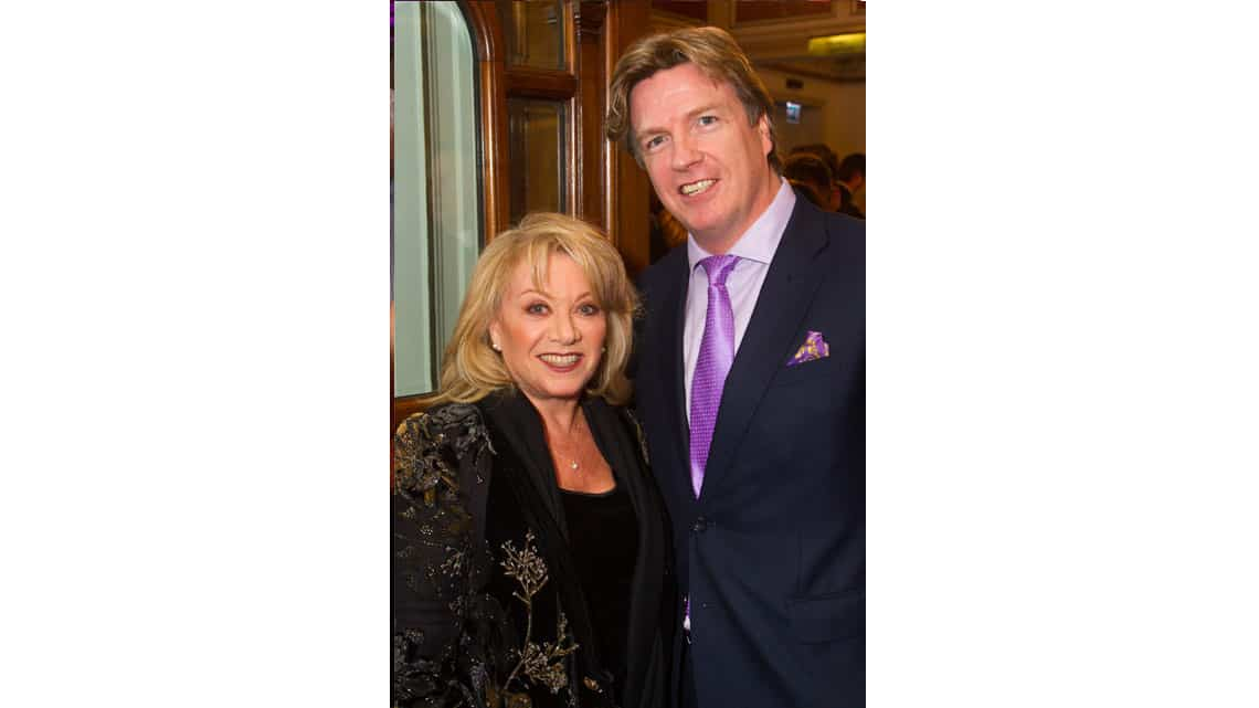 Elaine Paige and Justin Mallinson at the opening night of Sunset Boulevard. Photo credit Dan Wooller