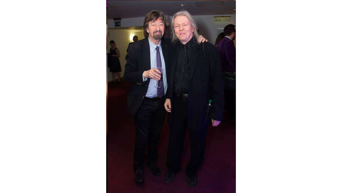 Trevor Nunn and Christopher Hampton at the opening night of Sunset Boulevard. Photo credit Dan Wooller | In Pictures: First Night of Sunset Boulevard