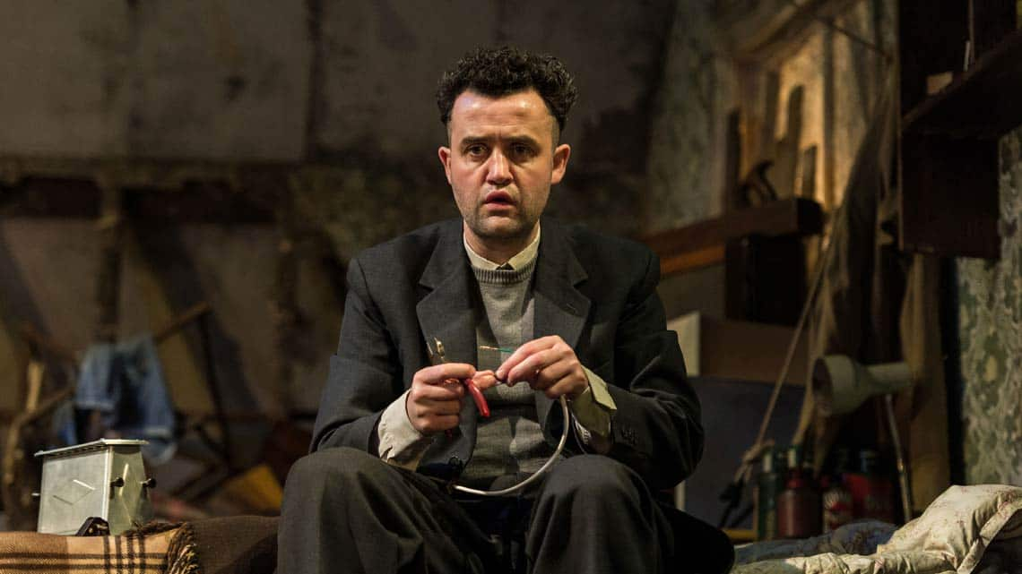 Daniel Mays (Aston) in The Caretaker at The Old Vic. Photo by Manuel Harlan.  | The Caretaker starring Timothy Spall at the Old Vic theatre