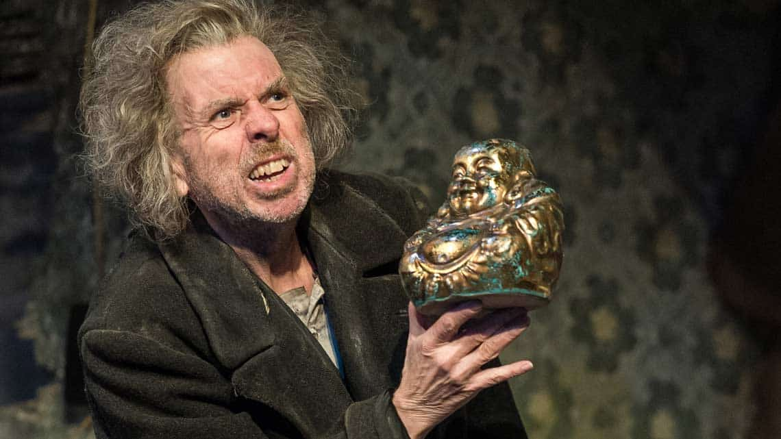 Timothy Spall (Davies) in The Caretaker at The Old Vic. Photo by Manuel Harlan | The Caretaker starring Timothy Spall at the Old Vic theatre