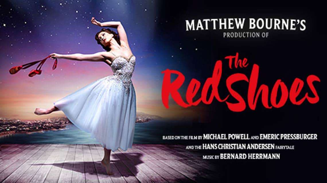 The Theatre Royal Nottinfham Red Shoes