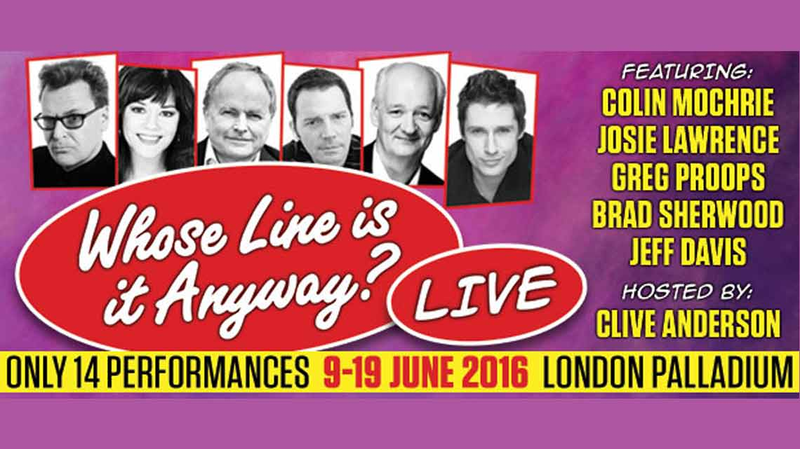 | Whose Line Is It Anyway?… Live at the London Palladium