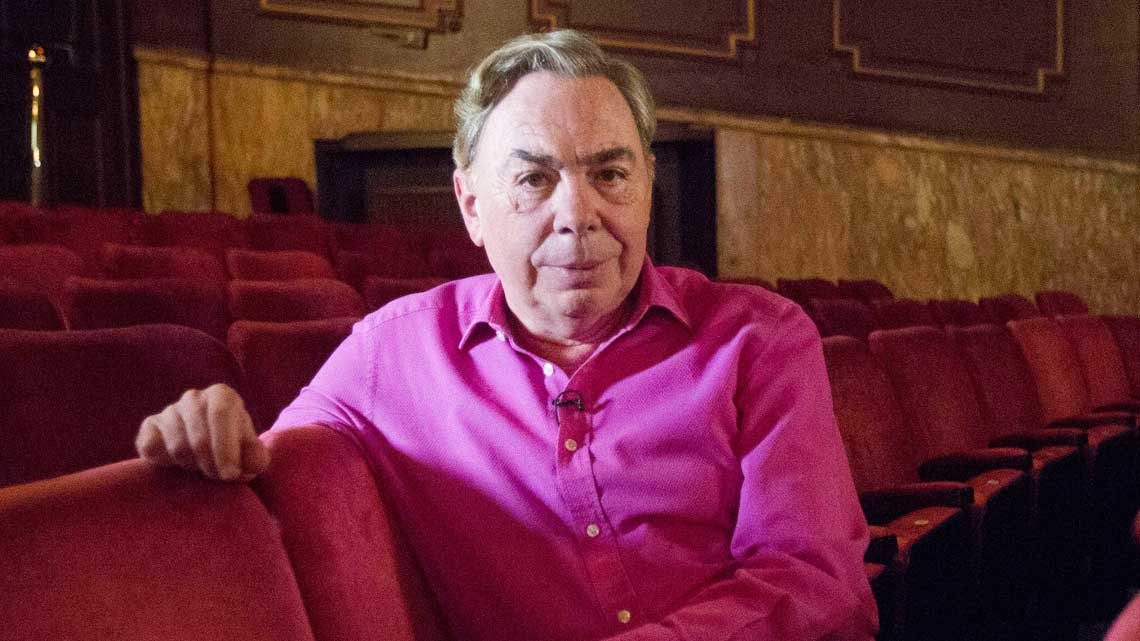 Andrew Lloyd Webber comes second in music Rich List