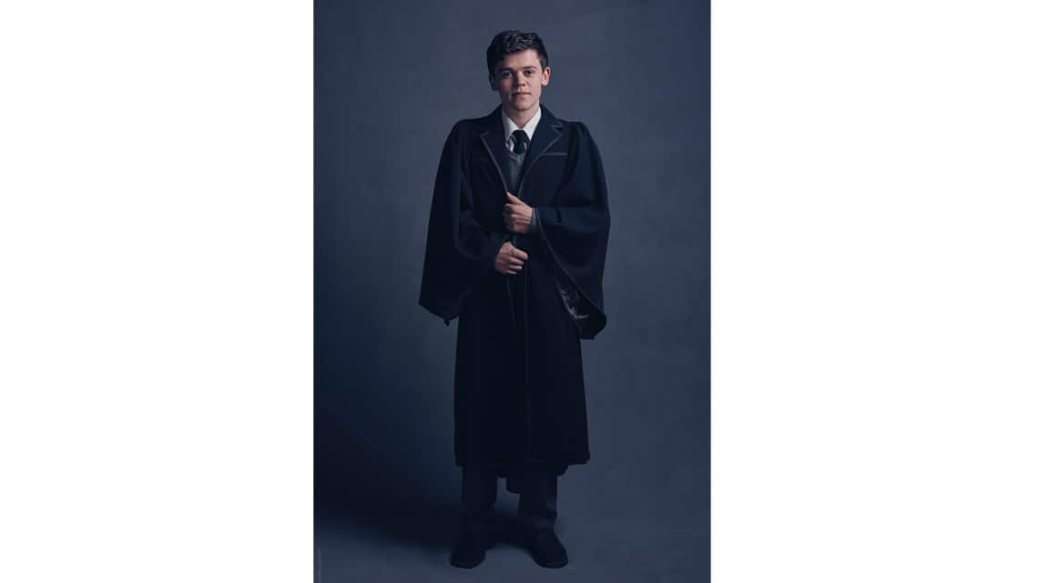 Albus Potter (Sam Clemmett) | First Look: Harry, Ginny and Albus in Harry Potter play