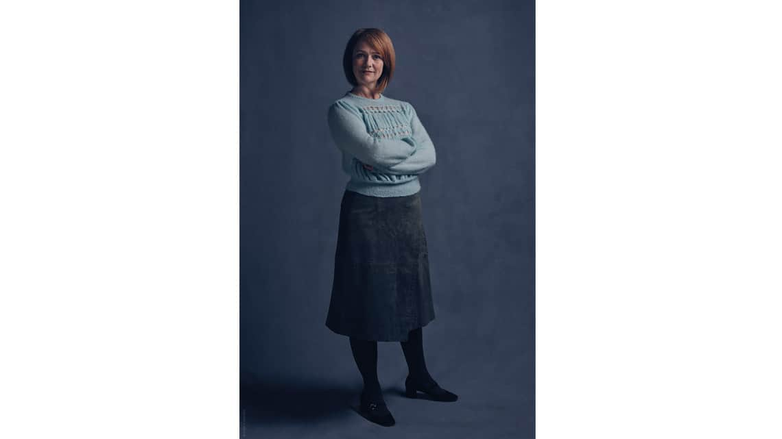 Ginny Potter (Poppy Miller) | First Look: Harry, Ginny and Albus in Harry Potter play