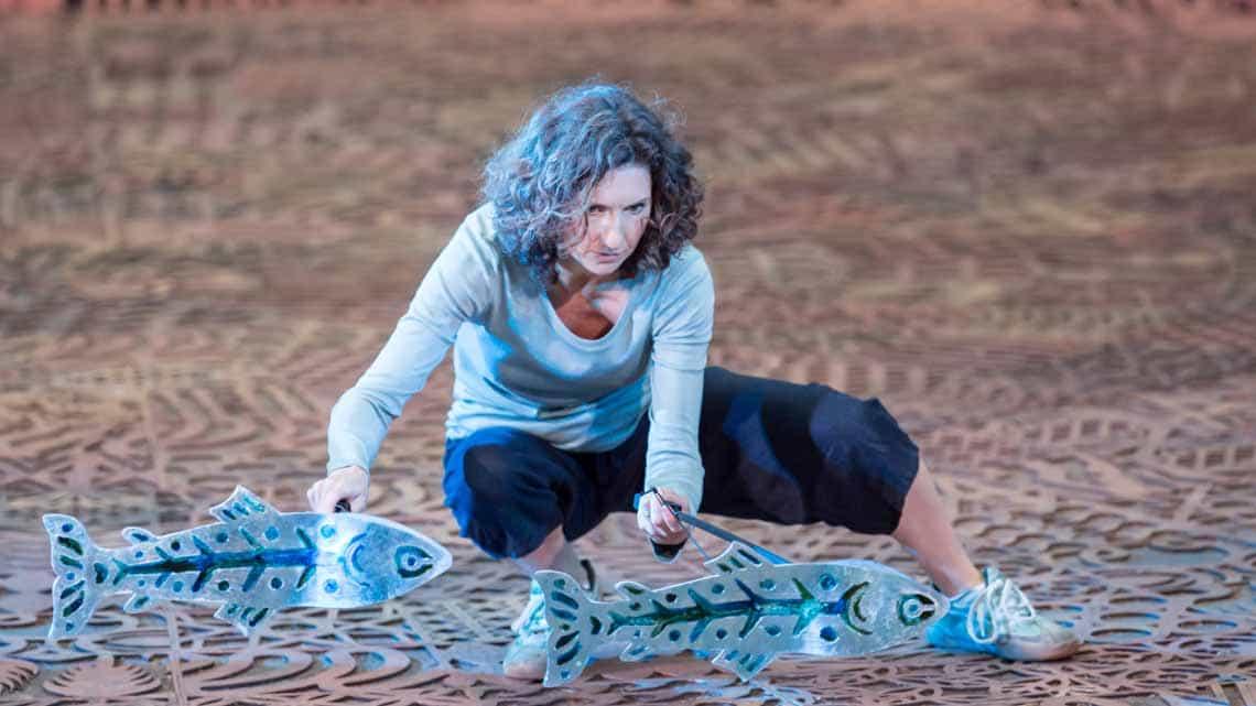 Hattie Ladbury. Photo Johan Persson | Running Wild at Regents Park Open Air Theatre