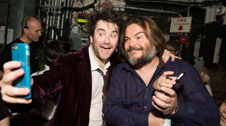 Jack Black at School of Rock - The Musical on Broadway
