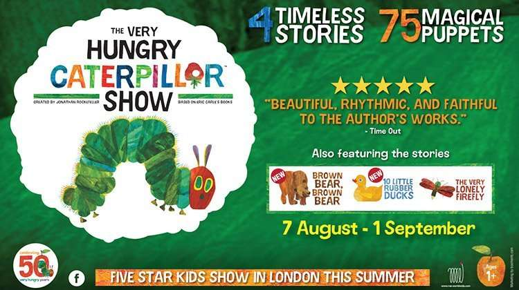 The Very Hungry Caterpillar Troubadour White City Theatre 2, London