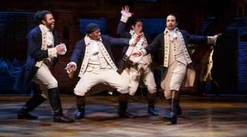 Hamilton Broadway |Photo Joan Marcus