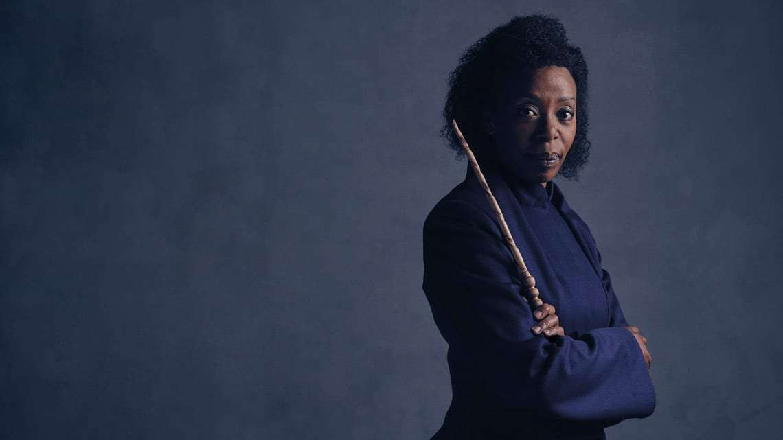 Hermione Granger (Noma Dumezweni). Photo credit Charlie Gray | First Look: Ron Weasley, Hermione Granger and Rose Granger-Weasley