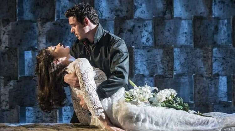 Richard Madden and Lily James | Romeo and Juliet | Photo: Johan Perrson
