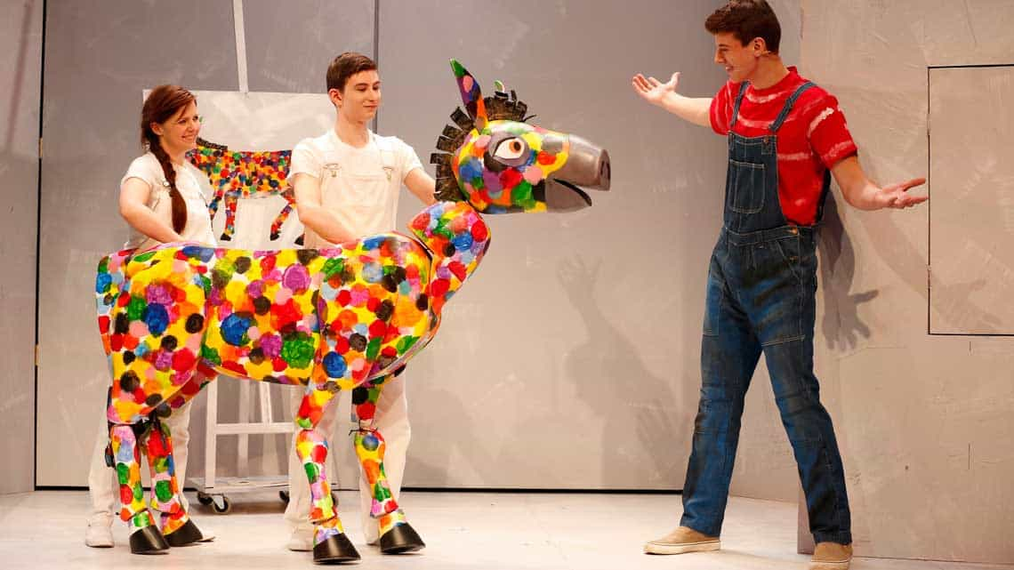 | The Very Hungry Caterpillar at the Ambassadors Theatre