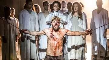 Tyrone Huntley and Declan Bennett as Judas and Jesus Jesus Christ Superstar | © Johan Persson.