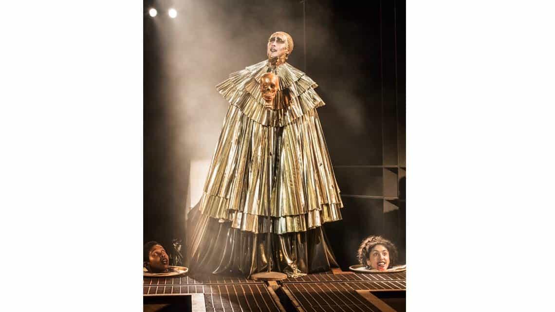 Peter Caulfield as Herod | Jesus Christ Superstar | © Johan Persson. | Flash Photos: Jesus Christ Superstar