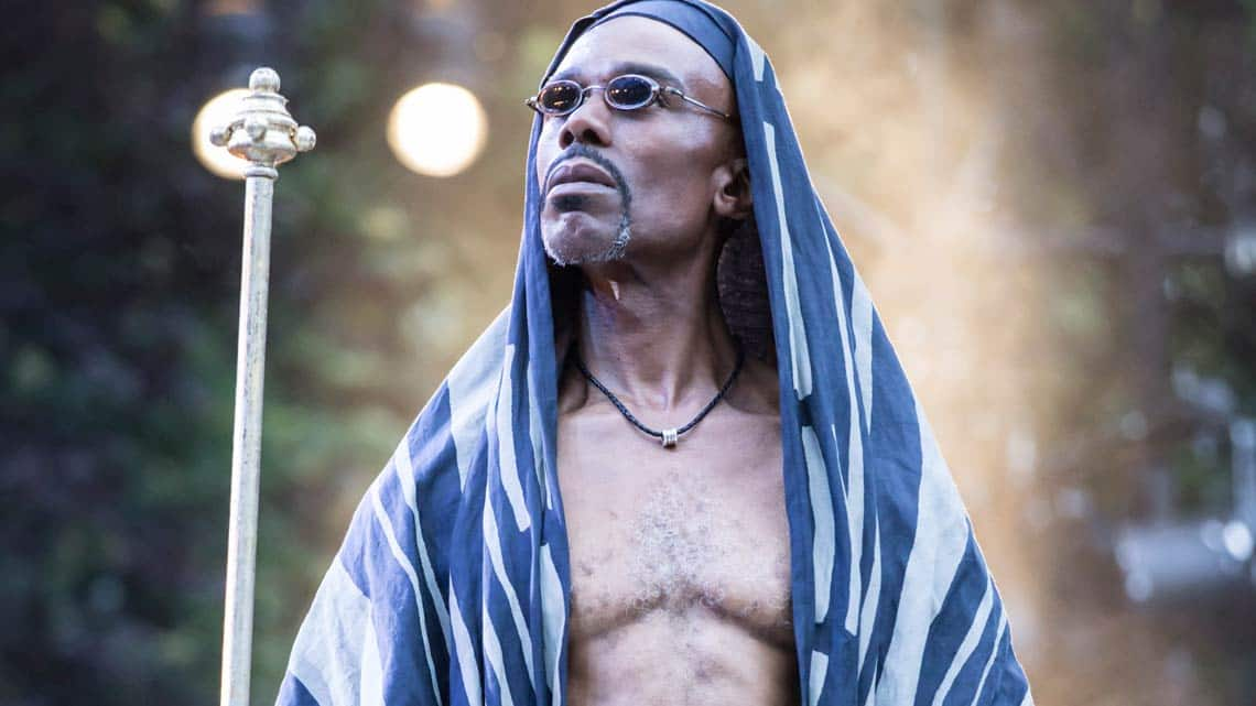 Cavin Cornwall as Caiaphas | Jesus Christ Superstar | © Johan Persson. | Flash Photos: Jesus Christ Superstar