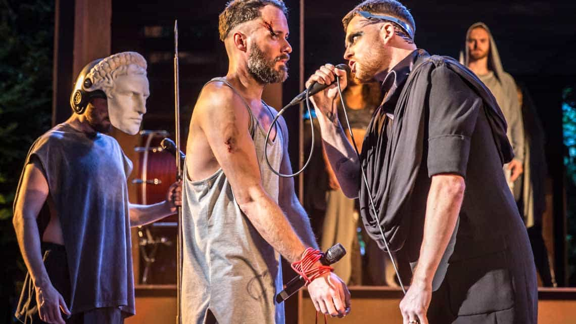 Declan Bennett and David Thaxton | Jesus Christ Superstar © Johan Persson. | Flash Photos: Jesus Christ Superstar