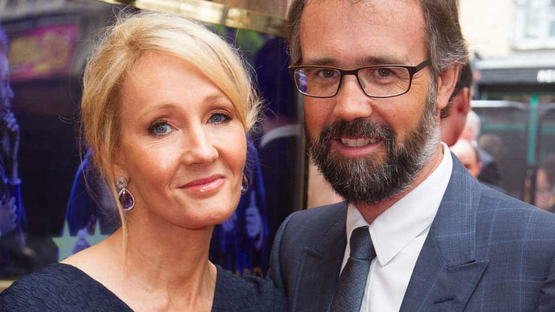 J.K. Rowling and Neil Murray at the Opening Gala of Harry Potter and the Cursed Child. Photo credit Dan Wooller  | In pictures: Harry Potter and the Cursed Child gala performance