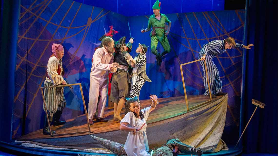| Peter Pan Goes Wrong at the Apollo Theatre