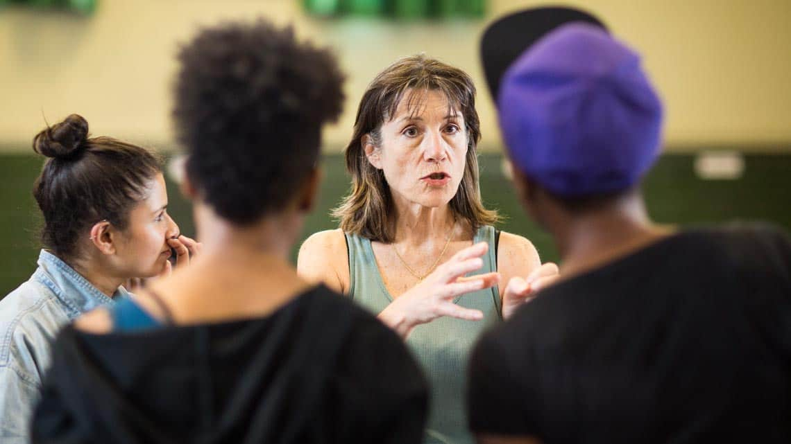 Harriet Walter (Brutus, King Henry IV, Prospero) by Helen Maybanks | In rehearsal: Donmar Shakespeare Trilogy