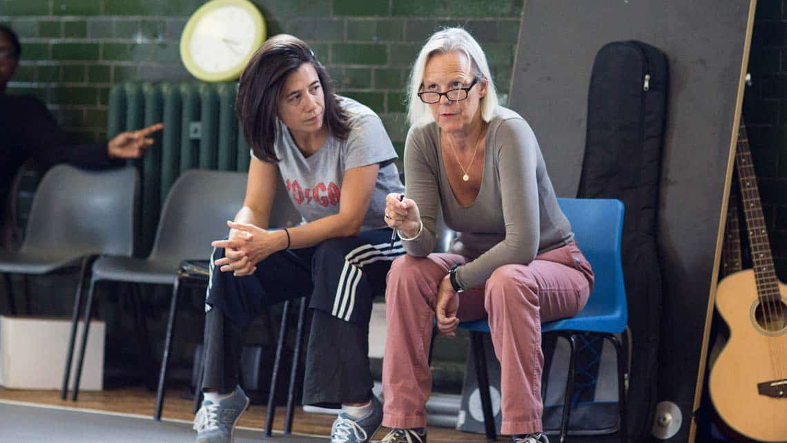 Phyllida Lloyd (Director) by Helen Maybanks | In rehearsal: Donmar Shakespeare Trilogy