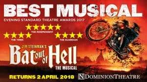 Bat Out of Hell, Dominion Theatre