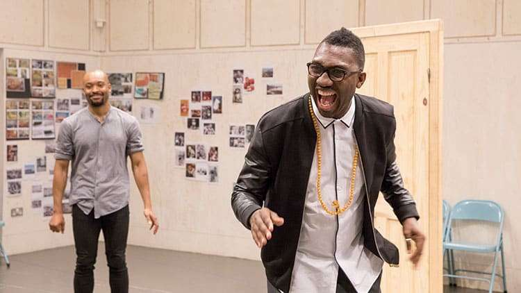 Kwame Kwei-Armah | One Night in Miami... | Photo: Johan Persson | In rehearsal: One Night in Miami… at Donmar Warehouse
