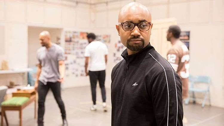 Francois Battiste | One Night in Miami... | Photo: Johan Persson | In rehearsal: One Night in Miami… at Donmar Warehouse