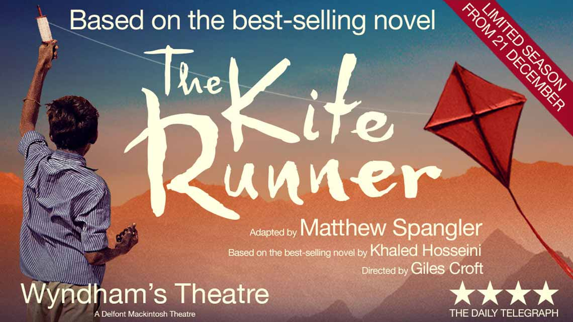review the kite runner by khaled The stage version of khaled hosseini's best-selling 2003 novel 'the kite runner,'  about an afghan immigrant caught up in the grand sweep of.