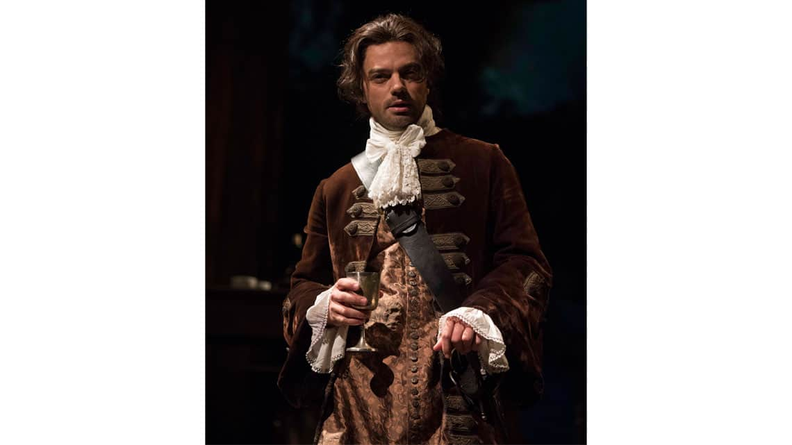 Dominic Cooper in The Libertine. Photo: Alastair Muir | In Pictures: Dominic Cooper in The Libertine