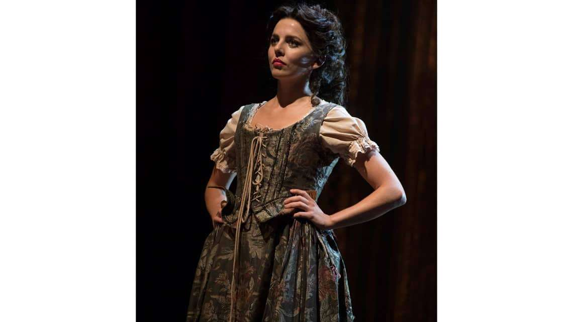 Ophelia Lovibond in The Libertine. Photo: Alastair Muir | In Pictures: Dominic Cooper in The Libertine
