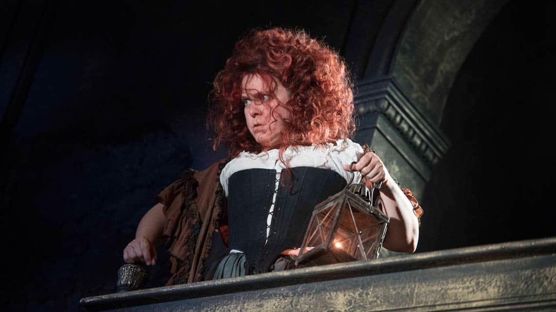 Lizzie Roper in The Libertine. Photo: Alastair Muir | The Libertine at the Theatre Royal Haymarket