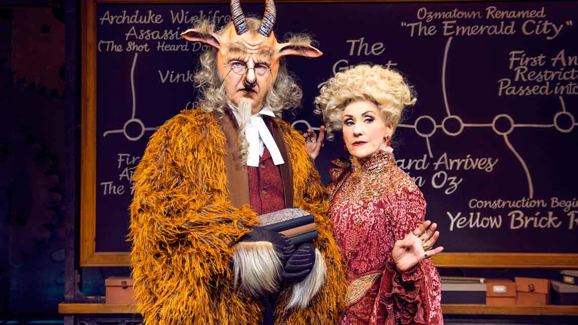 Martin Ball & Anita Dobson  Photo: Matt Crockety | In Pictures: Anita Dobson in Wicked