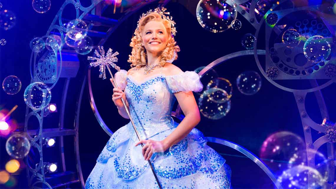 Suzie Mathers (Glinda) Photo: Matt Crockett | In Pictures: Anita Dobson in Wicked