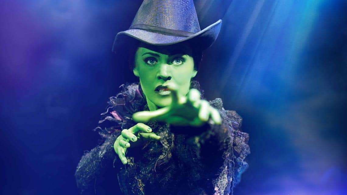 Rachel Tucker (Elphaba) Photo: Tristam Kenton | In Pictures: Anita Dobson in Wicked