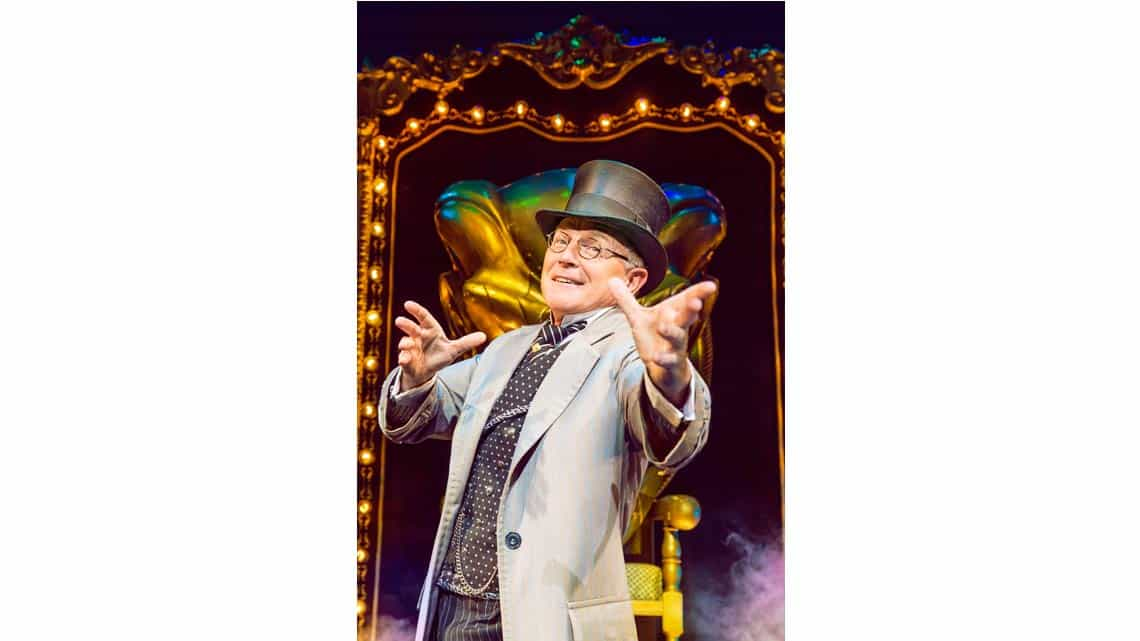 Mark Curry (The Wizard) Photo: Matt Crockett | In Pictures: Anita Dobson in Wicked