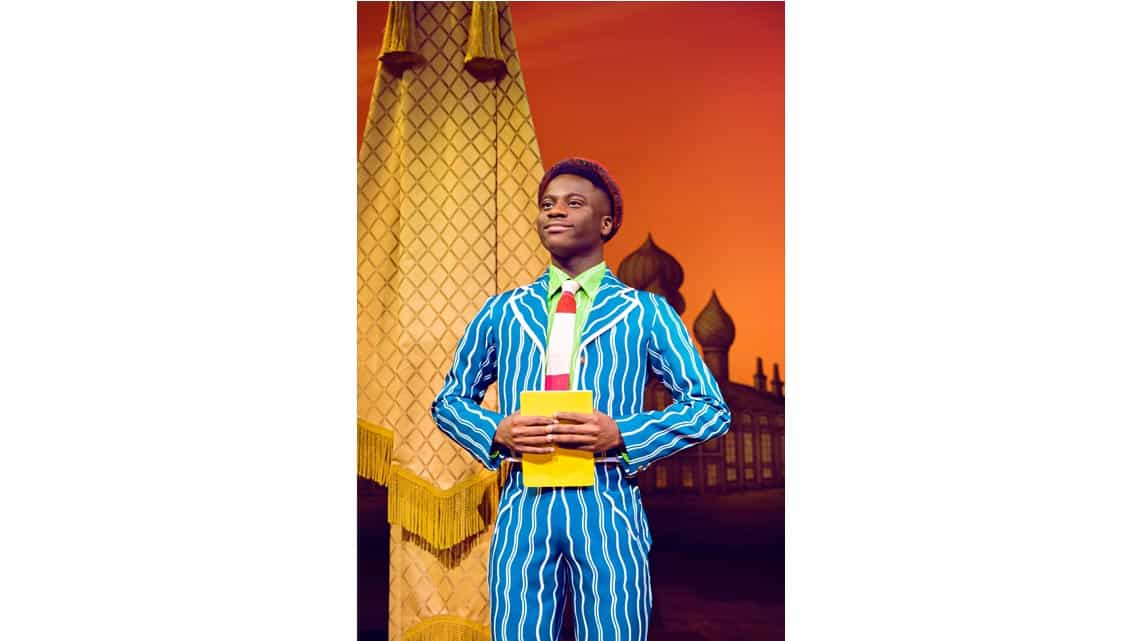 Idriss Kargbo (Boq) Photo: Matt Crockett | In Pictures: Anita Dobson in Wicked