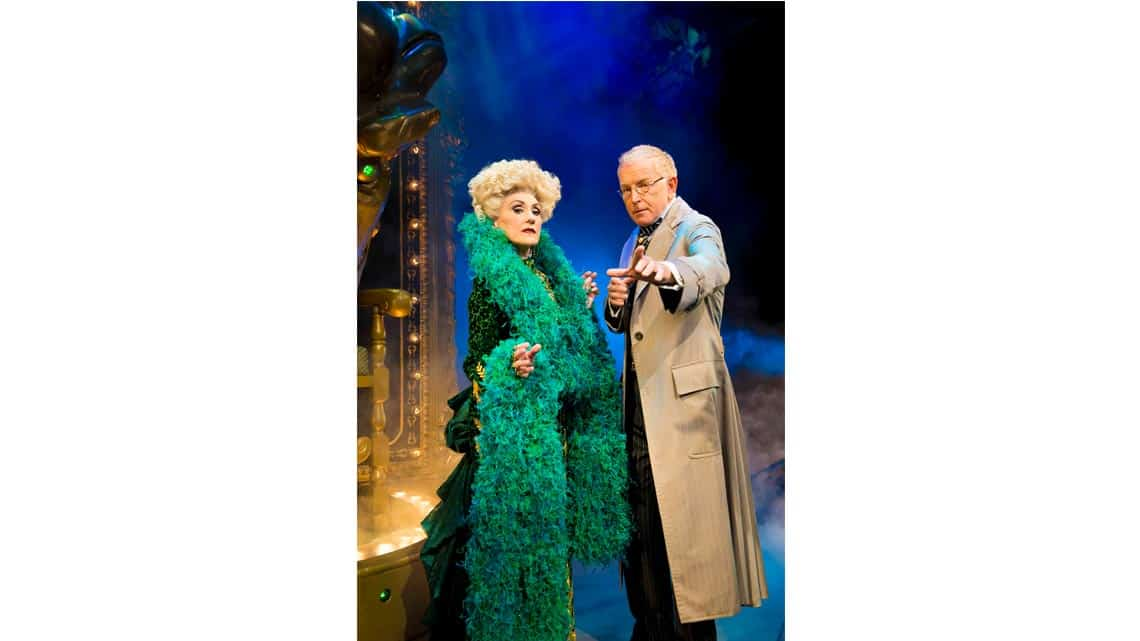 Anita Dobson & Mark Curry Photo: Matt Crockett | In Pictures: Anita Dobson in Wicked