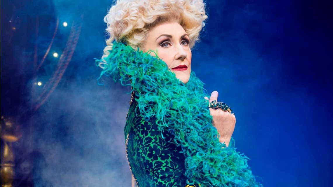 Anita Dobson (Madame Morrible) Photo : Matt Crockett | In Pictures: Anita Dobson in Wicked
