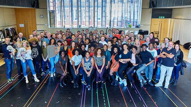 Photo: Ralf Brinkhoff | Dreamgirls: First day of rehearsals