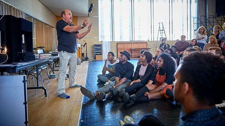 Photo: Ralf Brinkhoff   Dreamgirls: First day of rehearsals
