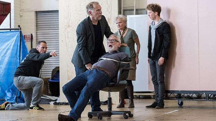 King Lear at The Old Vic. Photos: Manuel Harlan   Photos: King Lear in rehearsal at The Old Vic