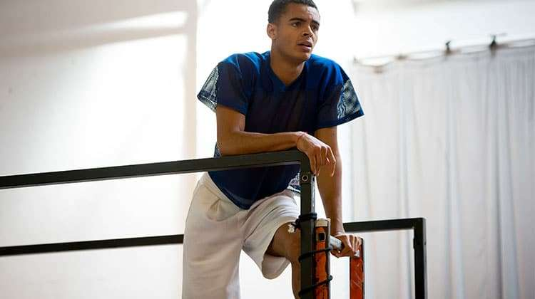 Layton Williams in rehearsals for RENT credit Matt Crockett | In rehearsal: Rent the musical