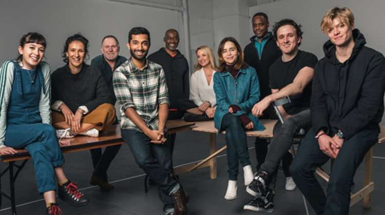 The Seagull cast