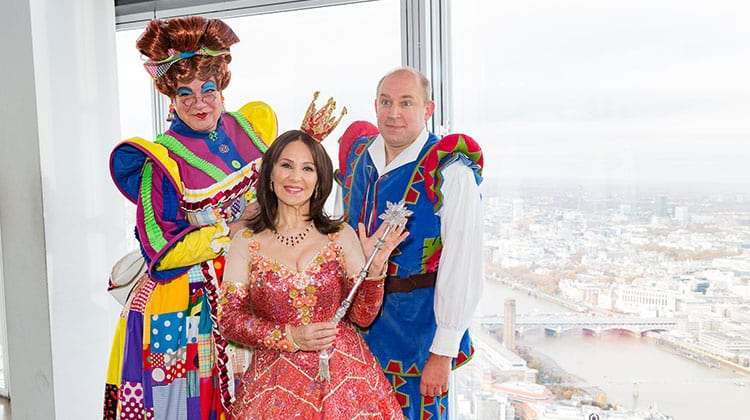 Matthew Kelly, Arlene Phillips, Tim Vine | Photo: Darren Bell | Matthew Kelly and Arlene Phillips get into Panto mode