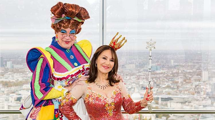 Matthew Kelly & Arlene Phillips | Photo: Darren Bell | Matthew Kelly and Arlene Phillips get into Panto mode