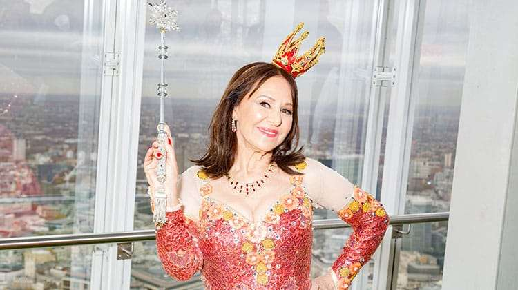 Arlene Phillips | Photo: Darren Bell | Matthew Kelly and Arlene Phillips get into Panto mode